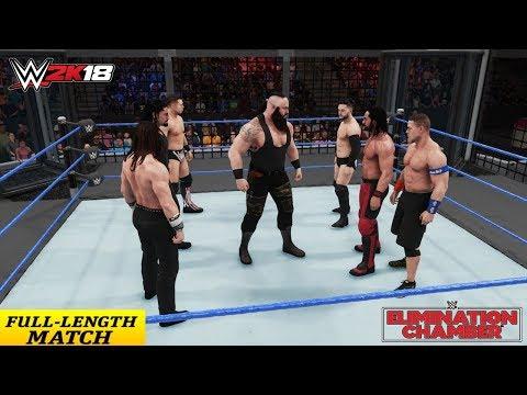 7 MAN ELIMINATION CHAMBER MATCH (WWE 2K18)