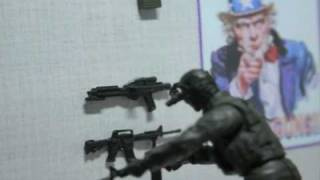 (Tactical Force) GI Joe Stop Motion Action Movie