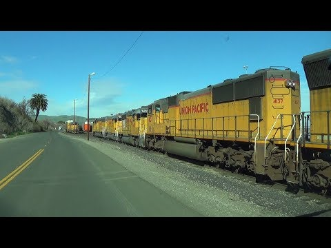 [HD] Trains Around Benicia and Bahia: UP Yard Jobs, an MWCKF Detour, and More! (02/14-02/20/18)