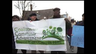 An audio slideshow of the December 10th protest in East New York about how rezoning is negatively affecting longtime homeowners in the neighborhood.
