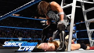 Nonton James Ellsworth vs WWE World Champion AJ Styles- Contract Ladder Match: SmackDown LIVE, Nov 22, 2016 Film Subtitle Indonesia Streaming Movie Download