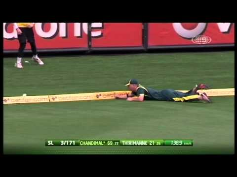 Sri Lanka vs Australia, Match 12, Melbourne, CB Series, 2012 - Sri Lanka&amp;#039;s innings