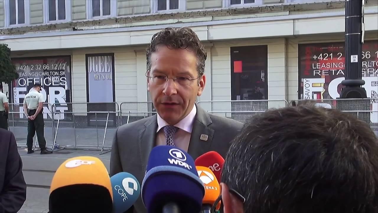 Δηλώσεις Ντέισελμπλουμ κατά την άφιξή του στη συνεδρίαση του Eurogroup