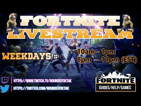 FORTNITE | Tuesday Morning Streaming - Lvl 64-70 Missions. Troll CHest??