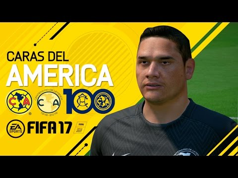 FIFA 17 CARAS CLUB AMERICA - HD