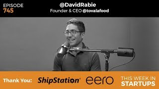 """Food is one of the hardest spaces that any founder can operate in. Food should be innovated upon, and we should be having many more services and products that make our life more delightful. But, we've seen more failures than successes here in Silicon Valley. Our guest today, Tovala founder and CEO, believes he will crack the space with his cloud-connected """"smart oven"""" that cooks ready-made meals in under 30 minutes with the scan of a code and the touch of a button. In fact, Tovala is launching today, July 11. Join us as David shares his approach to funding and scaling, his thoughts on the Amazon and Whole Foods acquisition, how he defines success, and more.For full show notes, subscribe to http://thisweekinstartups.com/about/#allsubscribe"""