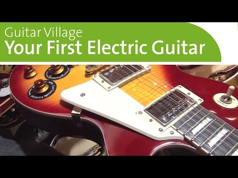 Buying Your First Electric Guitar