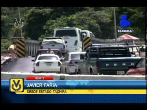 En el estado Táchira habilitaron el paso en la autopista Táriba-San Cristóbal