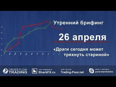 Утренний брифинг от 26 апреля. Обзор рынка форекс и fоrтs - DomaVideo.Ru