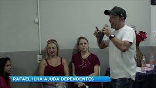 Rafael Ilha faz palestra em clínica de Sorocaba para ajudar na recuperação de dependentes químicos