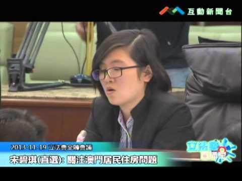 宋碧琪20131119立法會議