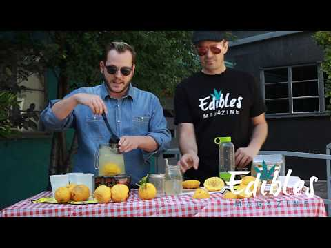 Cannabis Infused Lemonade Demo