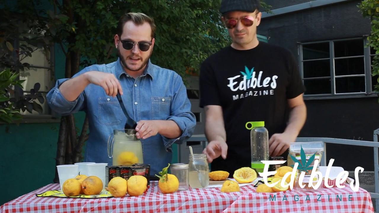 Cannabis Infused Lemonade Demo