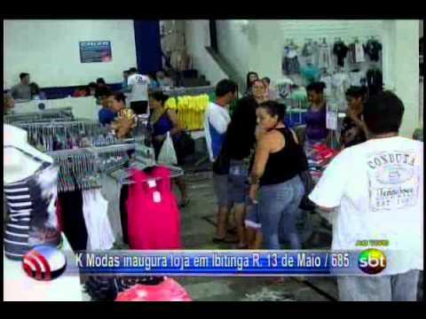Fala Cidade 02/12/2013 K Modas inaugura loja em Ibitinga