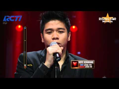 "Andre Arizki ""Here Without You"" 3 Doors Down - Rising Star Indonesia Live Audition 6"