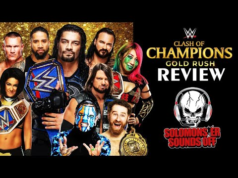 WWE Clash of Champions 2020 Full Show Review & Results | INSANE LADDER MATCH!