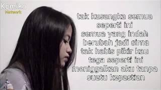 Biar Aku Yang Pergi (Lirik) - Aldy Maldini (Cover) by Hanin Dhiya