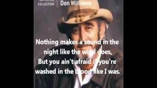 <b>Don Williams</b>Good Ole Boys Like Me With Lyrics