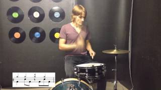 Happy by Pharrell Williams - Drum Lesson