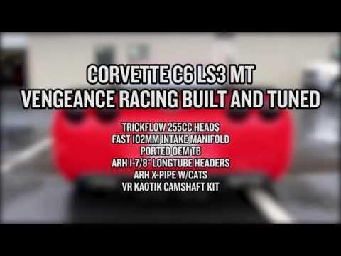 Vengeance Racing built C6 picks up 131RWHP/93RWTQ with Kaotik/TFS/FAST