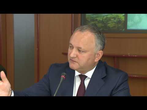 Igor Dodon a participat la conferința dedicată aniversării a 73-a a operațiunii Iași-Chișinău