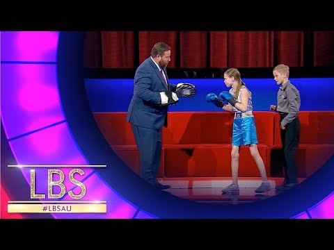 Evnika Shows Off Her Amazing Boxing Skills | Little Big Shots Australia