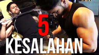 Video 5 KESALAHAN FITNESS PEMULA! MP3, 3GP, MP4, WEBM, AVI, FLV Januari 2018