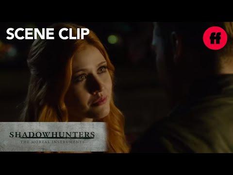 Shadowhunters | Season 1, Episode 9: Jace Tells Clary She's Right | Freeform