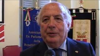 Cerimonia per i 150 anni dell\'Italia - On. Gerardo Bianco