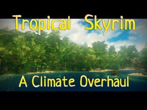 Skyrim Mod - Tropical Skyrim