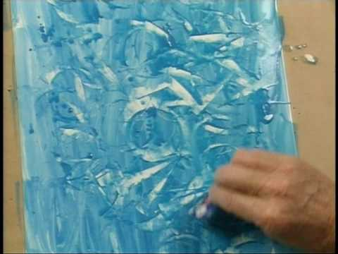 CrystalArtResources - Artist Gerald Brommer demonstrates and explains how to create nonobjective art. His demonstrations include building a textural surface; building a hard edge,...