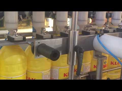 Çamaşır Suyu Dolum Makinası