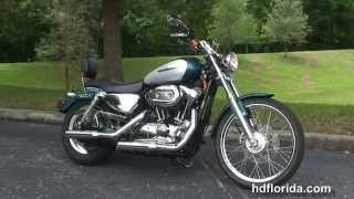 10. Used 2004 Harley Davidson 1200 Custom Motorcycles for sale