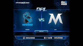 Newbee vs MAX, DPL 2018, game 1 [Adekvat, Smile]