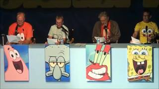 Video SpongeBob: Live Read of Help Wanted, Sept 7, 2013 FULL EVENT MP3, 3GP, MP4, WEBM, AVI, FLV Januari 2019