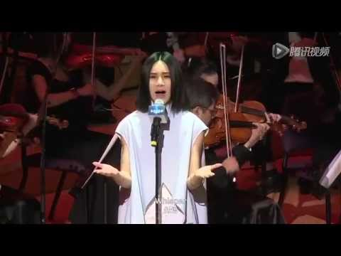 answers - Laure Shang sang Answers at Shangda Games' FFXIV release conference in China on Aug 20, 2014. Video officially recorded by Shanda Games. Accompaniment: Shang...