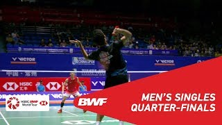 Download Video QF | MS | Anthony Sinisuka GINTING (INA) vs CHEN Long (CHN) [6] | BWF 2018 MP3 3GP MP4