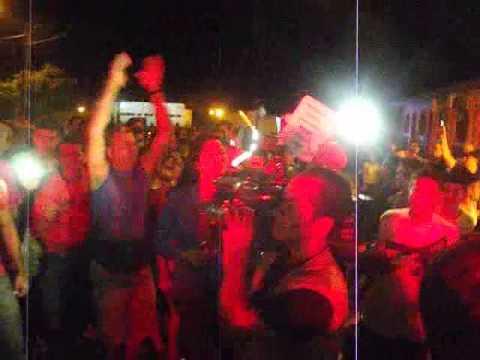 População irritado com a administração do prefeito de nova timboteua luiz bagaceira.