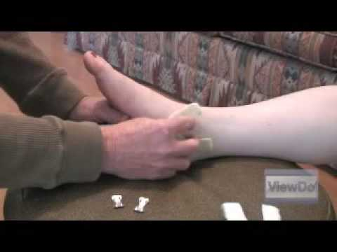 ViewDo: How to Wrap a Sprained Ankle Video