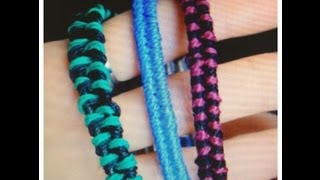 DIY Bracelets : Super Easy Fishtail! - YouTube