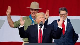 North Korean News: Ahead of President Donald Trump's appearance Monday at the National Scout Jamboree in West Virginia,...