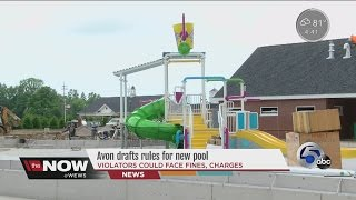 Avon (OH) United States  city photos : Avon drafts harsh punishments for breaking pool rules