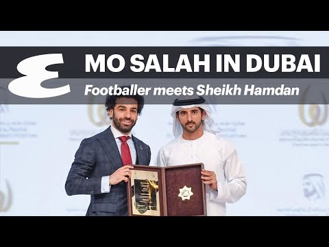 When Mo Salah Met Sheikh Hamdan Of Dubai