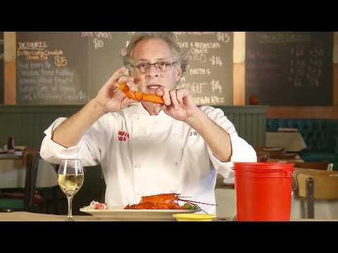 Jasper White Shows How To Eat A Lobster