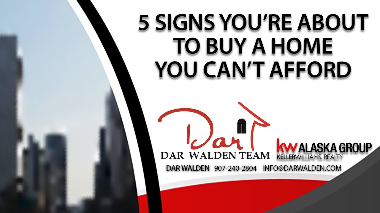 These 5 Signs Mean You're About to Buy a Home You Can't Afford