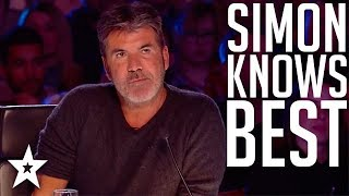 Video Top 10 Simon Cowell's I Know Best Moments on Got Talent Global MP3, 3GP, MP4, WEBM, AVI, FLV Agustus 2019