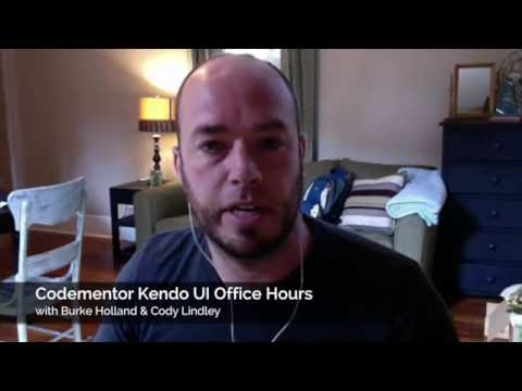 Codementor Kendo UI Office Hours: Building JavaScript and HTML5 Web & Mobile Apps with Kendo UI