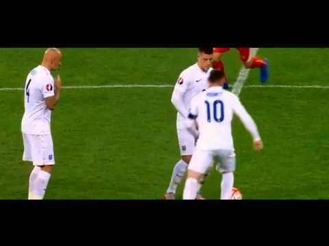 Wayne Rooney ● England VS Switzerland ● Skills, Goals, Passes 8/09/2015 Individual Highlight HD