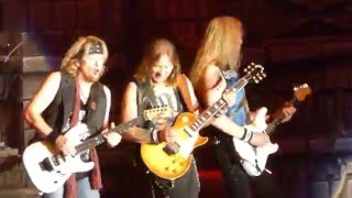 Iron Maiden - Powerslave @ The Forum, Inglewood, CA, USA 4/15/2016 The Book of Souls World Tour
