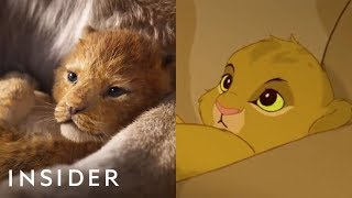 Video A Breakdown Of The New 'The Lion King' Teaser Compared To The Original MP3, 3GP, MP4, WEBM, AVI, FLV Desember 2018